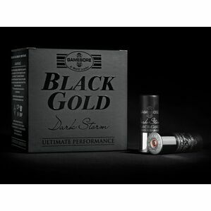 Gamebore BG 4/36 FBR Dark Storm Black Gold Shotgun Cartridges 12g
