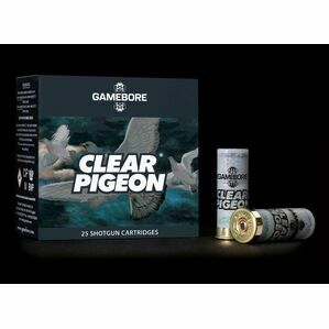 Gamebore Clear Pigeon 6/32 Plastic Shotgun Cartridges 12g