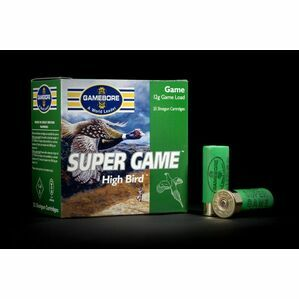 Gamebore Supergame Hi Bird 7/28 Fibre Shotgun Cartridges 12g