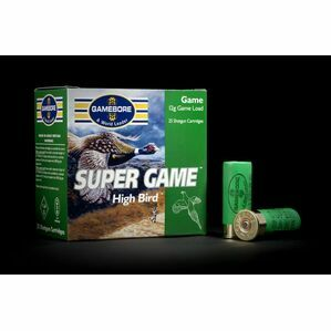 Gamebore Supergame Hi Bird 5/32 Fibre Shotgun Cartridges 12g