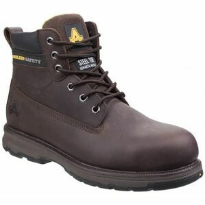 Amblers AS170 Mens Wentwood Safety Boot - Brown