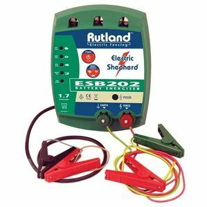 Rutland Battery Fence Energiser 08-202 12V Wet Battery 1.7 Joules