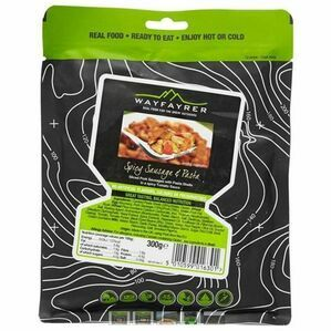 Wayfayrer Meal - Sausage & Pasta Camping Food