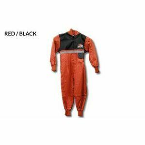 GDT RED/BLK HI VIZ BOILER SUIT