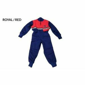 GDT Hi Viz Boiler Suit - Royal/Red