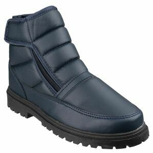 Cotswold Grit Zip Touch Fastening & Zip Up Winter Boots
