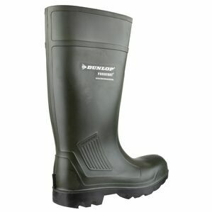 Dunlop Purofort Professional Wellington Boots (Green)