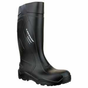 Dunlop Purofort+ Full Safety Black Wellington Boots