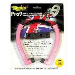 Napier Pro 9 Hearing Protectors NAP9P - Pink