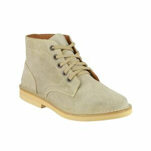 Amblers 87002 Lace Up Desert Boots (Taupe)