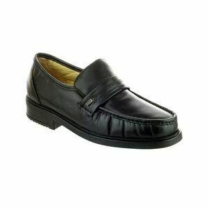 Amblers Charles Men's Loafers (Black)