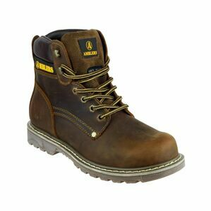 Amblers Dorking Casual Lace Up Boots (Brown Crazy Horse)
