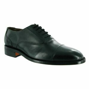 Amblers James Leather Soled Shoes (Black)