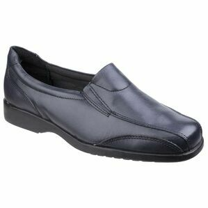 Amblers Merton Ladies Slip-On Shoes (Navy)