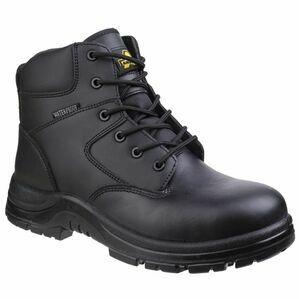 Amblers FS006C Metal Free Waterproof Leather Safety Boots (Black)