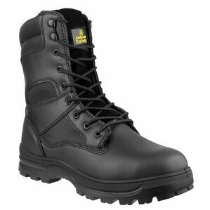 Amblers FS008 Water Resistant Hi Top Safety Boots (Black)