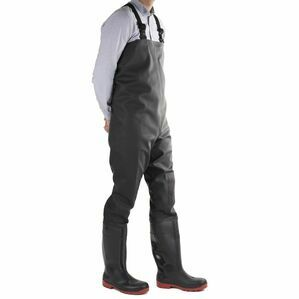 Amblers Safety Danube Chest Safety Waders - Black