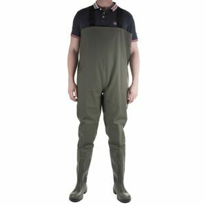 Amblers Safety Tyne Chest Safety Waders - Green