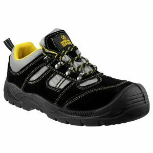 Amblers Safety FS111 Lightweight Lace Up Safety Shoes (Black)