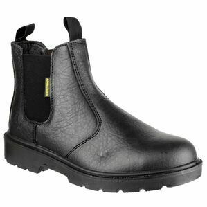 Amblers Safety FS116 Dual Density Pull on Safety Dealer Boots (Black)