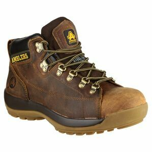 Amblers Safety FS126 Crazy Horse Lace Up Safety Boots (Brown)
