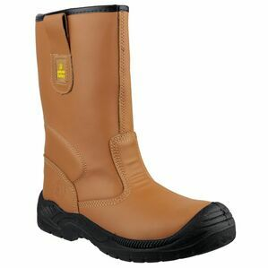 Amblers Safety FS142 Water Resistant Pull On Rigger Boots (Tan)