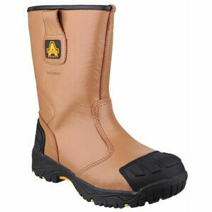 Amblers Safety FS143 Waterproof Pull On Safety Boots (Tan)