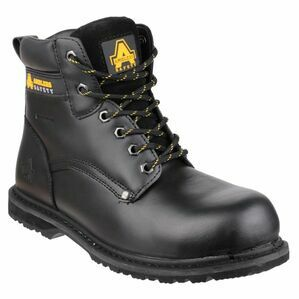 Amblers Safety 146 Welted S3 WP Work Boots (Black)