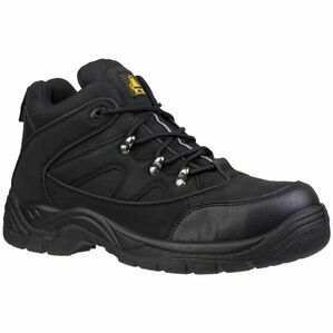 Amblers Safety FS151 Lightweight Lace Up Hiker Boots (Black)