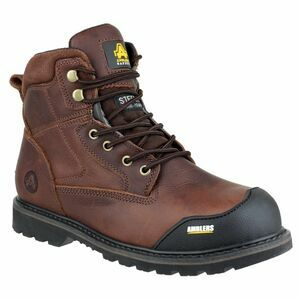Amblers Safety FS167 Goodyear Welted Lace Up Boots (Brown)