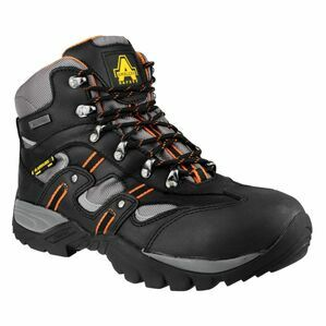 Amblers Safety FS193 Waterproof Lace up Hiker Boots (Black)