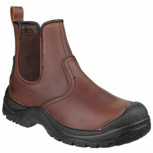 Amblers Safety AS200 Skiddaw Pull on Dealer Boots (Brown)
