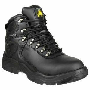 Amblers Safety FS218 Waterproof Lace Up Safety Boots (Black)