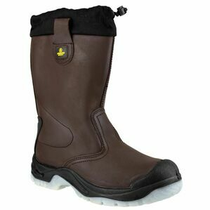 Amblers Safety FS219 Antistatic Pull On Safety Boots (Brown)