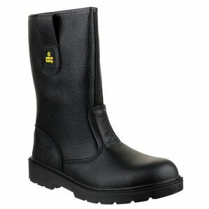 Amblers Safety FS224 Water Resistant Pull On Rigger Boots (Black)