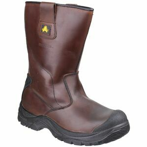 Amblers Safety AS249 Cadair Waterproof Pull On Boots (Brown)