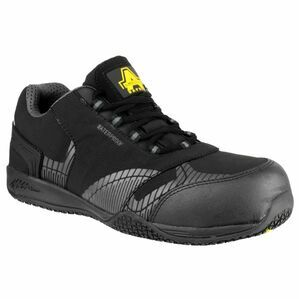 Amblers Safety FS29C Waterproof Metal Free Trainers (Black)