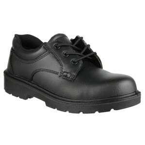 Amblers Safety FS41 Gibson Lace Safety Shoes (Black)