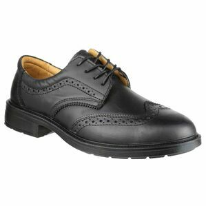 Amblers Safety FS44 Leather Brogues (Black)