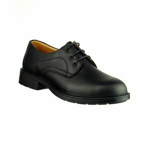 Amblers Safety FS45 Antistatic Lace up Gibson Shoes (Black)