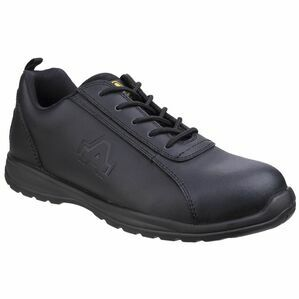 Amblers Safety AS604C Metal Free Semi-Formal Shoes (Black)
