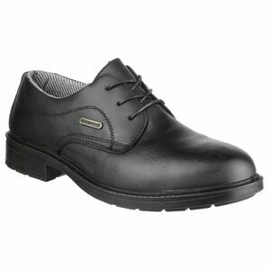 Amblers Safety FS62 Waterproof Lace Up Gibson Shoes (Black)