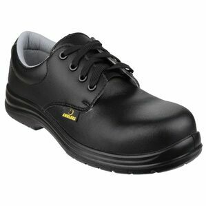 Amblers Safety FS662 Metal Free Water Resistant Shoes (Black)