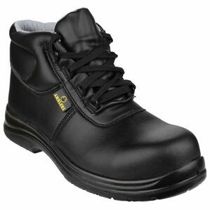 Amblers Safety FS663 Metal-Free Water-Resistant Boots (Black)