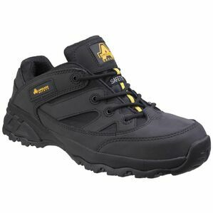 Amblers FS68C Fully Composite Metal Free Safety Trainer in Black