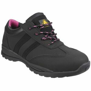 Amblers Safety FS706 Sophie Lace Up Safety Trainers (Black)