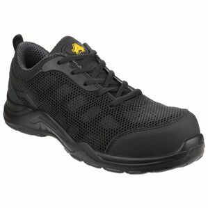 Amblers Safety AS710C Seamless Non Metal Safety Trainers (Black)