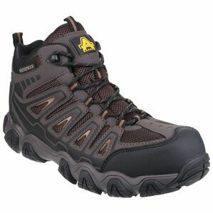 Amblers Safety AS801 Waterproof Non-Metal Safety Boots (Brown)