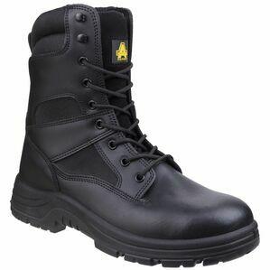 Amblers Safety Combat Hi-Leg Waterproof Boots (Black)