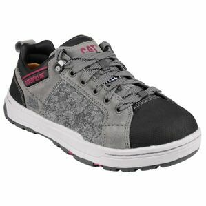 Caterpillar Brode Canvas Safety Trainers (Grey)
